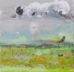 "Swamp Circle, Maryland. 20 x 20"" 2017"